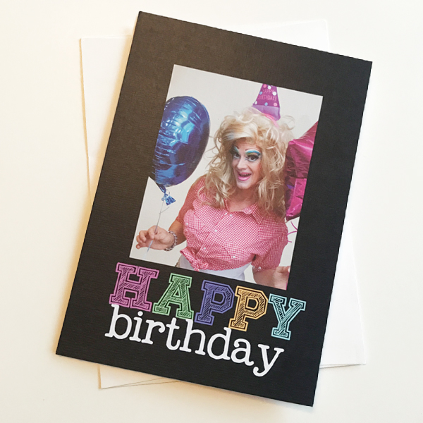 Dee W. Ieye Happy Birthday card