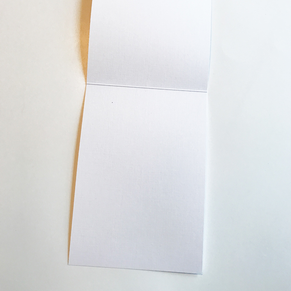 blank inside of card image