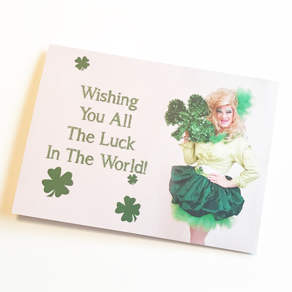 St. Patricks Day card image